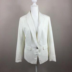 Bar lll white lined blazer